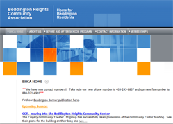 Beddington Heights Community by Website Builder