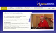 Council of Catholic School Superintendents of Alberta is hosted by Canadian Web Hosting