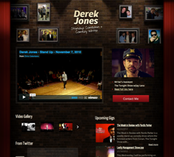 Derek Jones Standup Comedian