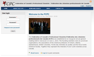 Federation of Canada's Professional Chemists is hosted by Canadian Web Hosting